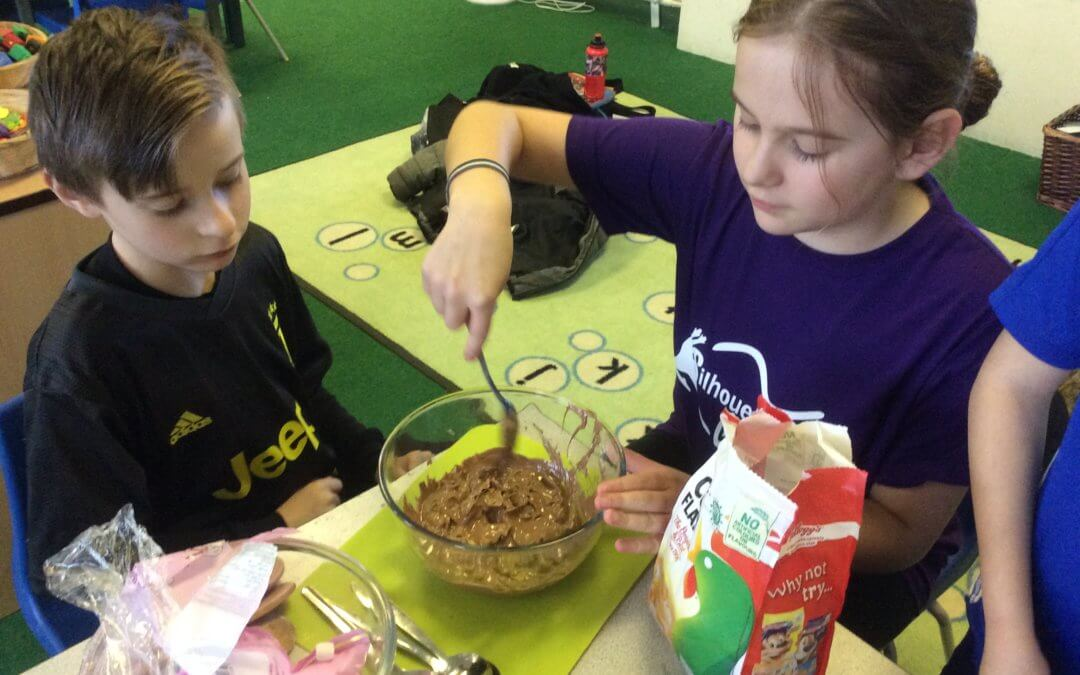 Eco Club – Chocolate Krispie Cakes
